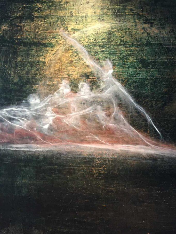 Nebel-Ballett – ca. 0.80m x 0.80m