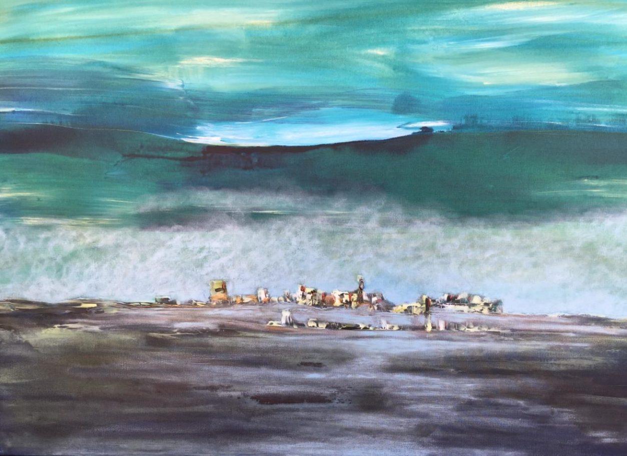 Die Welle – ca. 1.20m x 0.80m