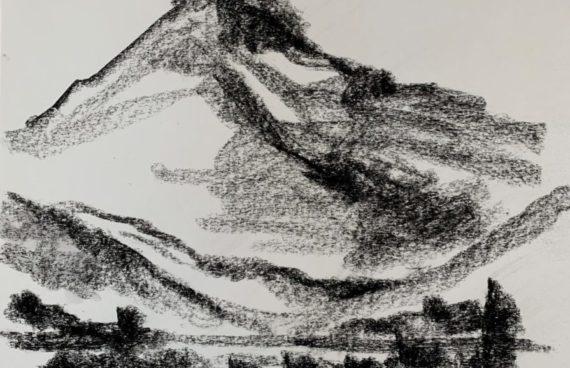 IN ARBEIT: Megalithe 05 _ Kohle _ 0.60 x 0.40