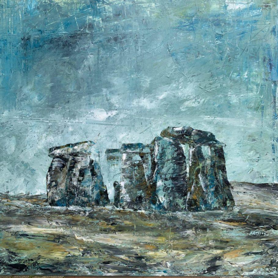Megalithe _ Ölfarben 0.80 x 0.80