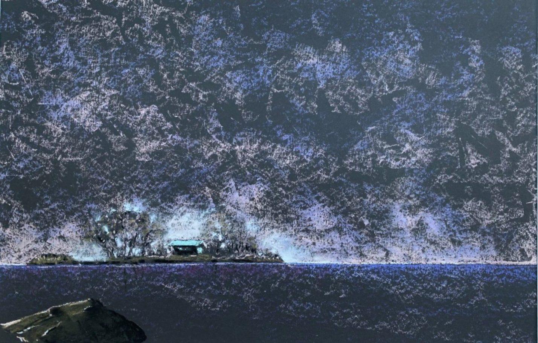 Die Insel – ca. 0.70m x 0.50m