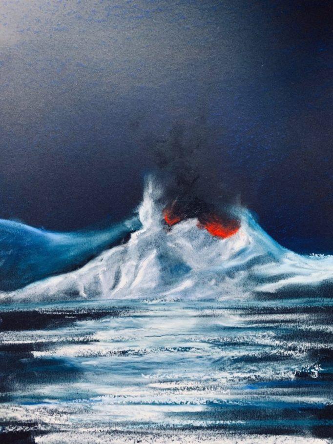Eisberg 3 – ca. 0.60m x 0.50m