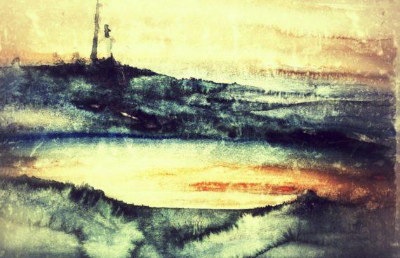 Dee Moorsee _ Aquarell 0.70 x 0.50